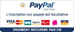 paiement sécurisé paypal CB